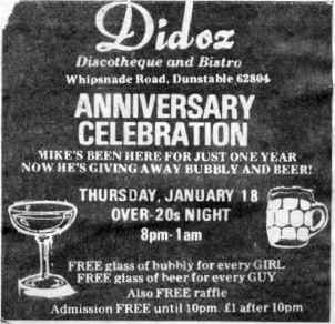 Didoz advert