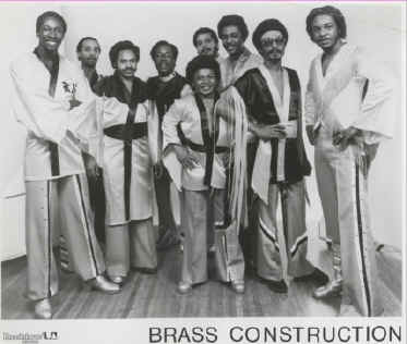 Brass Construction promo card