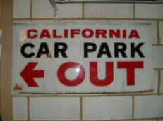 the car park sign