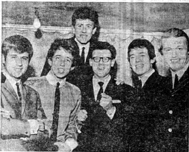Dave Scott with The Hollies
