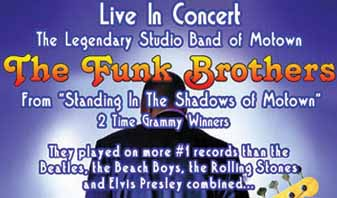 Funk Brothers tour poster